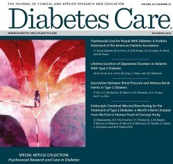 Diabetes Care: psychosocial research