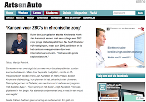 Arts en Auto interview Diabeter