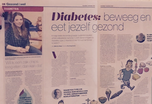 De Stentor over leven met diabetes