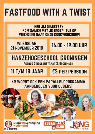 Kookworkshop 'fast food with a twist'