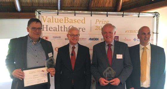 Diabeter wins ValueBased HealthCare Prize 2017